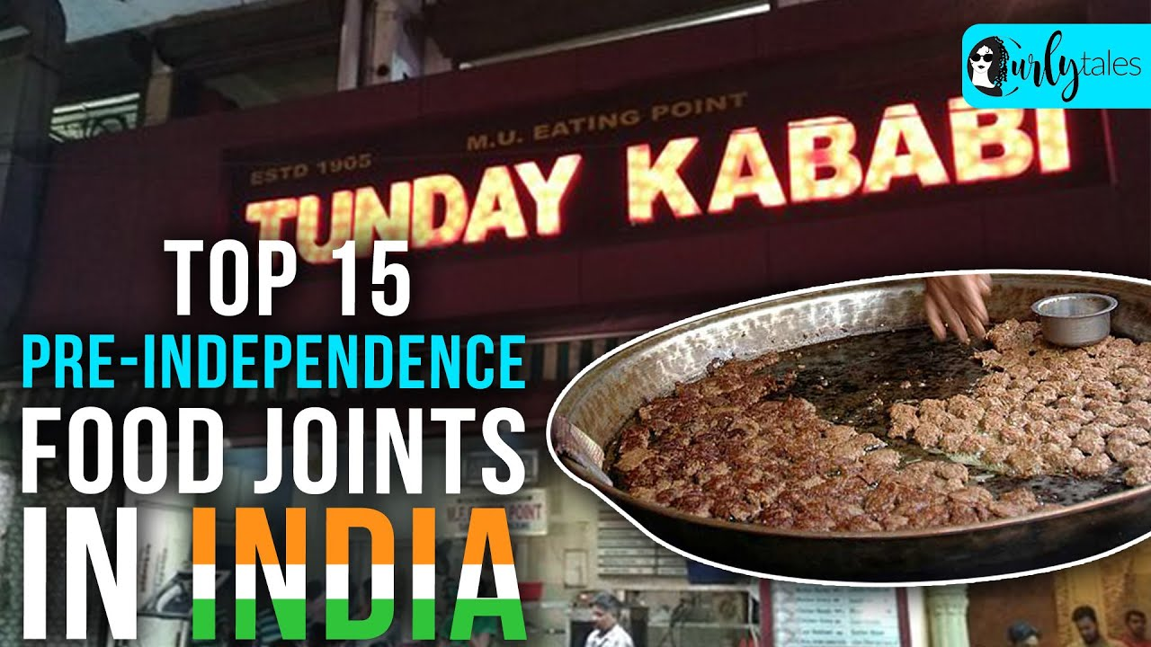 Top 15 Pre-independence Food Joints In India