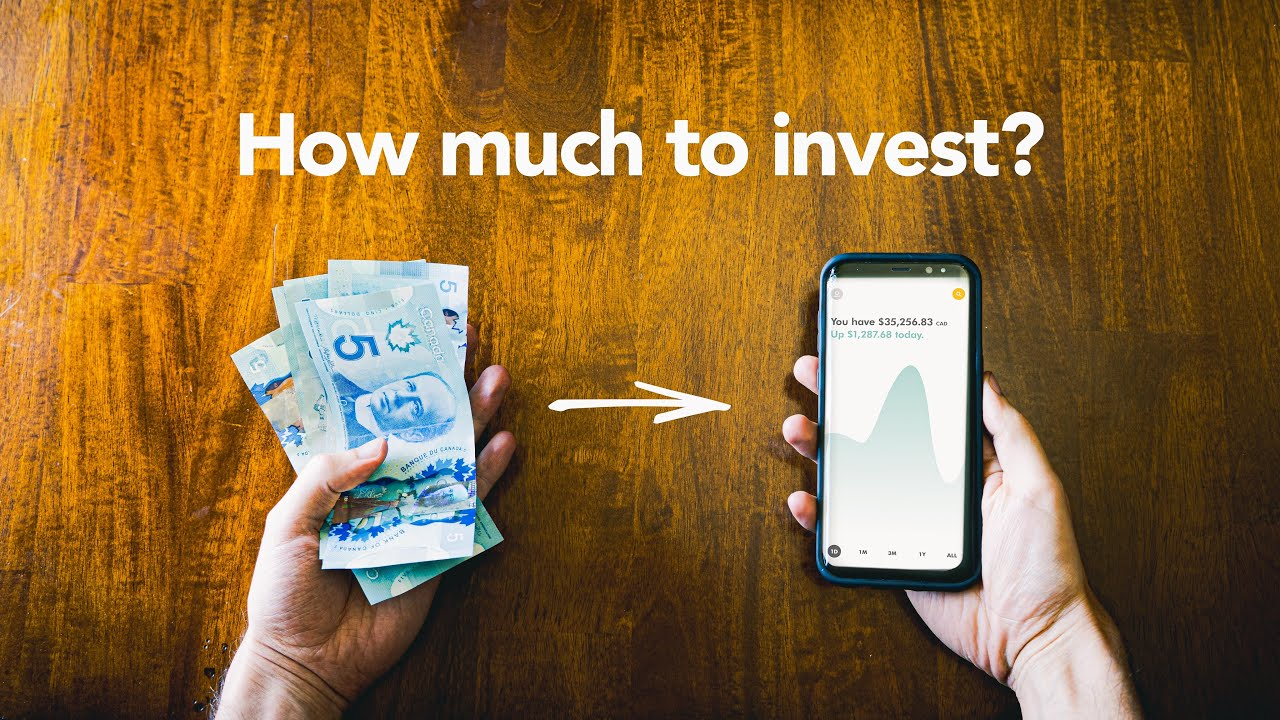 How much money should you invest? (Index Funds for beginners)