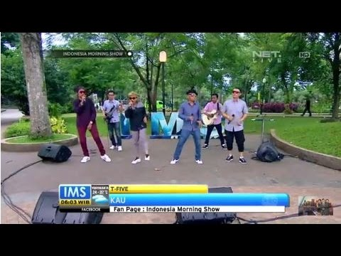 T Five - Kau - Live at Indonesia Morning Show