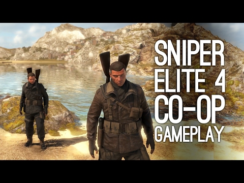 Sniper Elite 4 Gameplay: Let's Play Sniper Elite 4 Co-Op (Xbox One Gameplay)