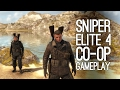 Sniper Elite 4 Gameplay: Let's Play Sniper Elite 4 Co-Op (Xbox One Gameplay)