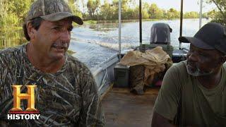 Swamp People: Alligators Prey on Frenchy's Cows (Season 10) | History