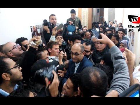 رد فعل مؤيدي خالد على بعد إعلان قرار انسحابه من الانتخابات الرئاسية