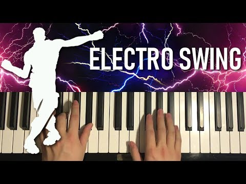 HOW TO PLAY - FORTNITE - Electro Swing (Piano Tutorial Lesson)