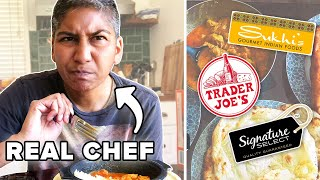 Indian Chef Reviews Frozen Indian Food