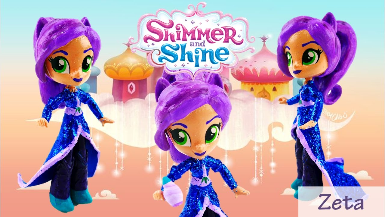 Bad Toys For Girls : Zeta doll custom shimmer and shine toys from my little