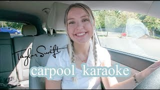 Taylor Swift Carpool Karaoke!!!