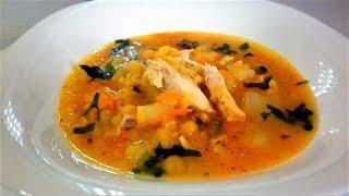 ГОРОХОВЫЙ СУП/Гороховый суп с курицей/Самый вкусный гороховый суп