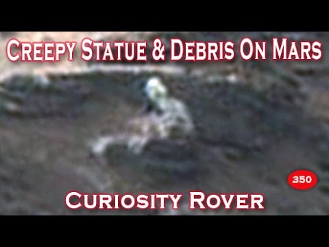 Creepy / Strange Statue Imaged On Mars Surface?!