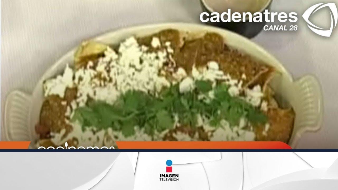 CHILAQUILES DE AGUASCALIENTES Cmo preparar chilaquiles