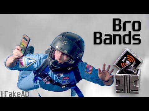 Bro Bands   Fake Ad