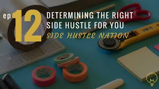 Millennovator ep012: How to Find a Successful Side Hustle with Side Hustle Nation