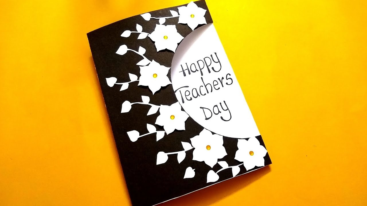 Beautiful Greeting Card For Teachers Day Handmade Teachers Day Card Id Teachers Day Greeting Card Teachers Day Card Greeting Cards For Teachers