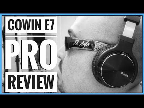 Cowin E7 Pro Noise Cancelling Headphones Review (2018)