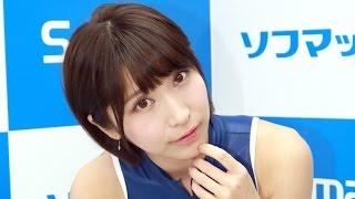 ミスアクション2016候補生の新人グラビアアイドル、桐生美希(22...
