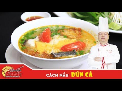 Cách nấu Bún Cá ngon và hấp dẫn cho buổi sáng cùng gia đình | How to cook Bun Ca