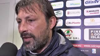 Calcio. Interviste del post gara di Potenza - Catania