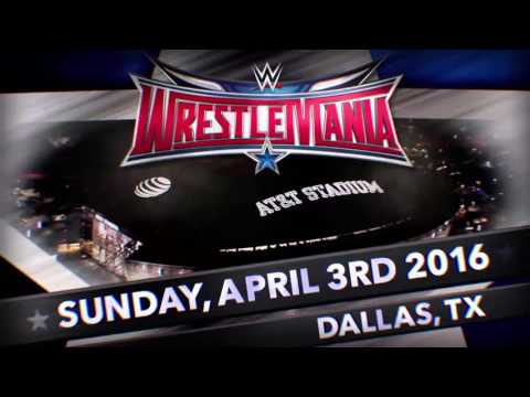 "WWE WrestleMania 32 |1st And Official Theme Song| - ""My House"" By Flo Rida"
