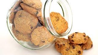 Быстрое и очень вкусное овсяное печенье по рецепту Марты Стюарт #быстро_к_чаю