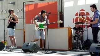 "Oh No! Yoko - ""Coryza"" (Live at CBC Musical Nooners, Vancouver, July 26th 2012) HQ"