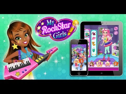 My Rockstar Girls Game Preview!