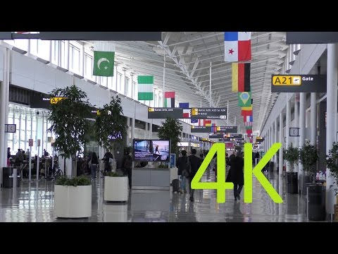 A 4K Video Tour of Washington Dulles International Airport (IAD/KIAD)