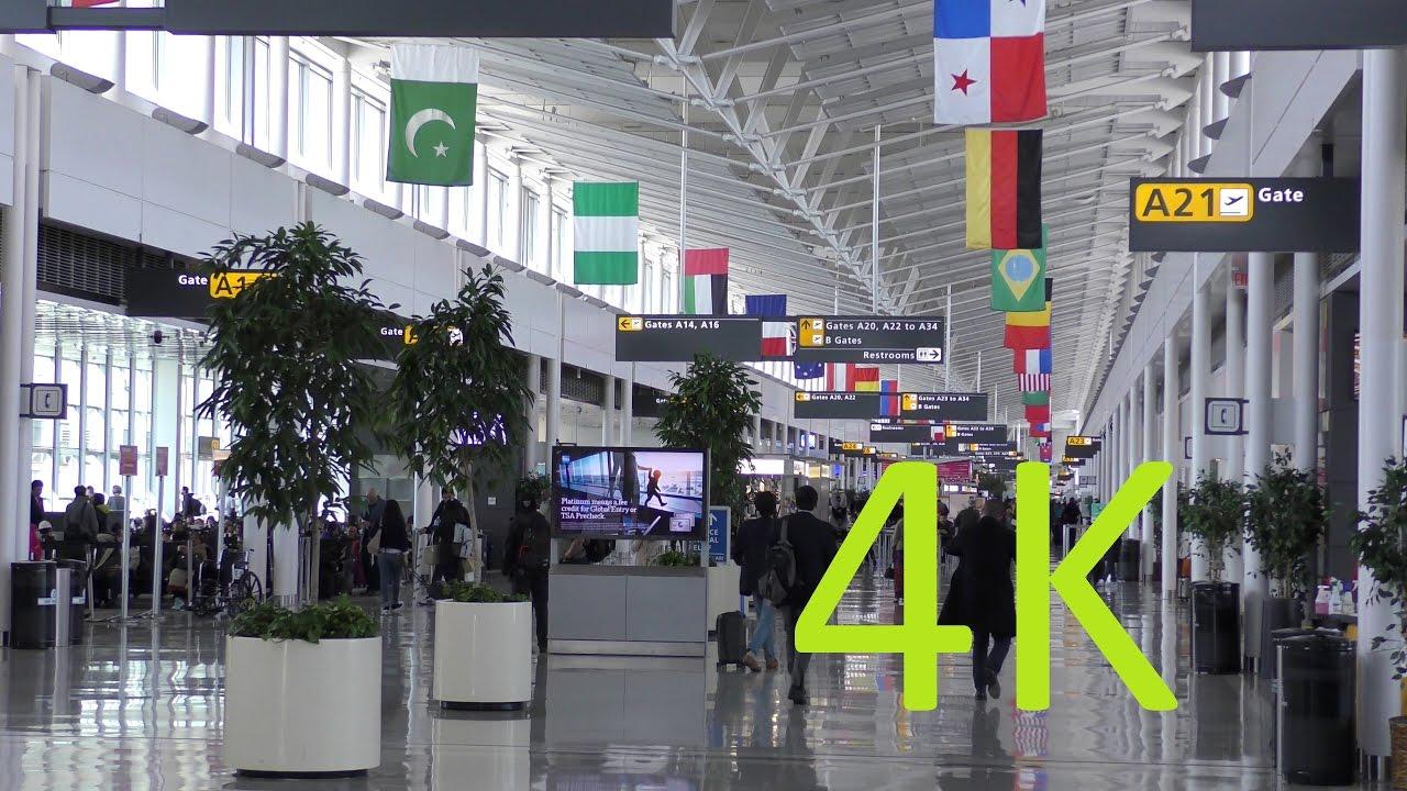 A 4K Video Tour of Washington Dulles International Airport ...