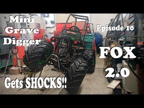 Custom DIY Mini Grave Digger 4×4 Powerwheels Monster Truck Build Part 10