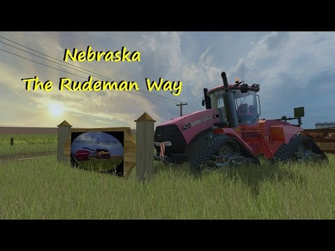 Let's Play Farming Simulator 2015 Nebraska modded Ep 1