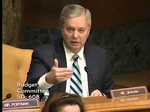 Graham Questions Witness During Senate Budget Committee Hearing