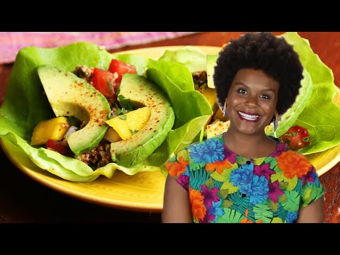 How To Make Raw Pecan Tacos With Tabitha Brown •Tasty