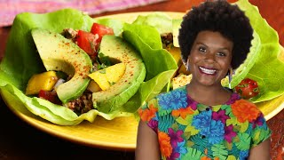 How To Make Raw Pecan Tacos With Tabitha Brown