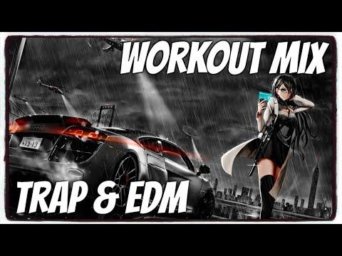 『Nightcore』→ ♫ 1H WORKOUT Music ♫ TRAP & EDM Music Mix 2019   Kaitos Music
