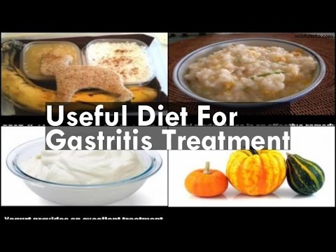 Useful Diet For Gastritis Treatment