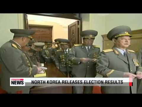 North Korea releases election results