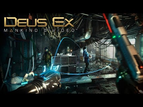 Deus Ex: Mankind Divided - Gameplay Demo @ E3 2015 TRUE-HD QUALITY