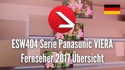 ESW404 Serie Panasonic VIERA Fernseher 2017 Übersicht