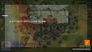 Clash of clans INSANE LOOT IN CRYSTAL LEAGUE TH9