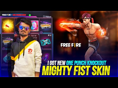 🔥New One Punch Knockout  Mighty Fist Review Skin Tamil | Free Fire  New Event Tamil |Gaming Tamizhan