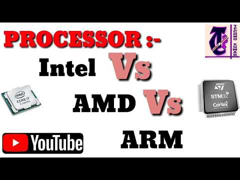 Intel Vs AMD Vs ARM? Which one is better for you? In Hindi