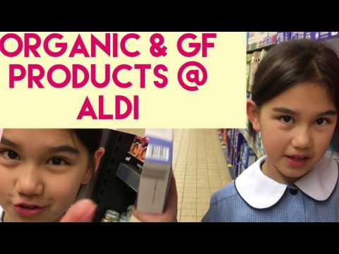 Organic and Gluten Free Shopping at Aldi Australia