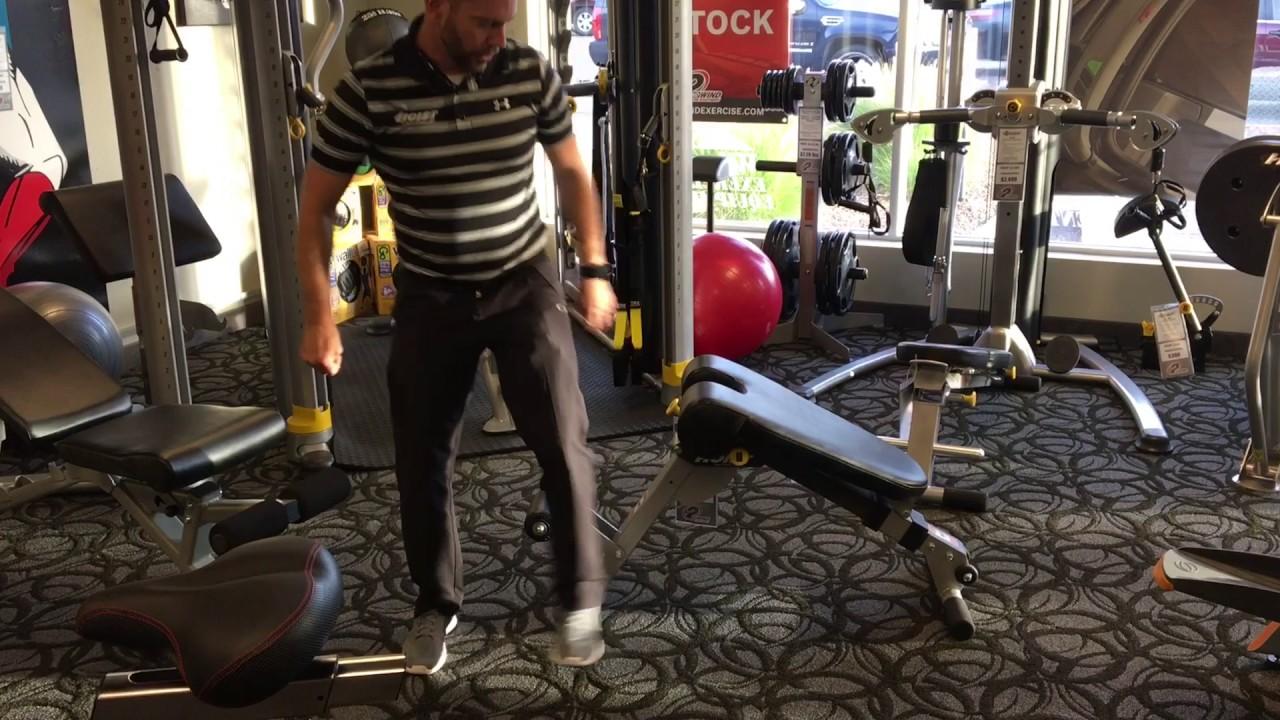 Hoist Fitness Hf 4263 Ab Back Hyper Bench Youtube
