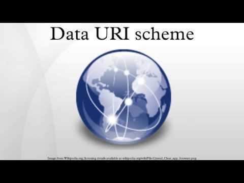 Data URI scheme