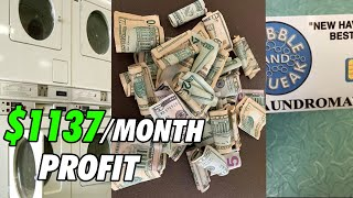 How to Start a Laundromat Business with no Money | $1137 Per Month