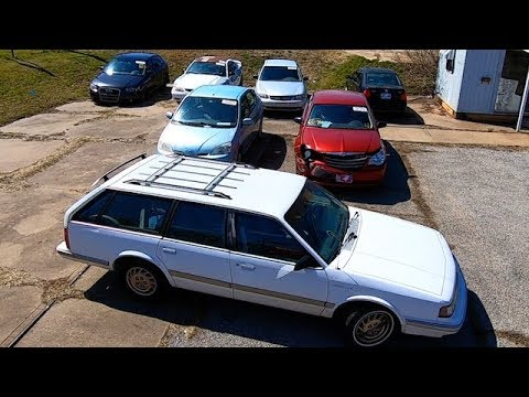 Copart $500 Car Purchases - 94 Olds Cutlass Ciera Wagon 1 Owner