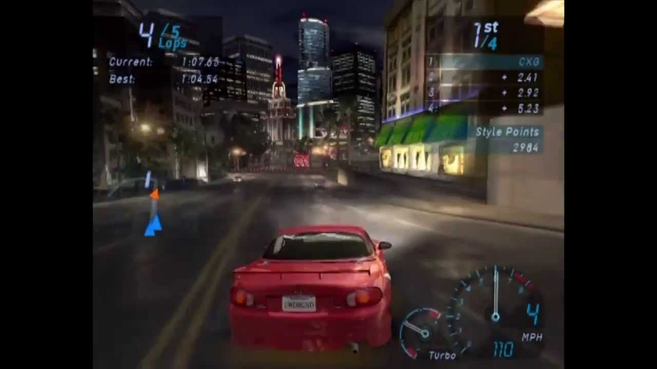 Need For Speed Underground Ps2 Gameplay Youtube
