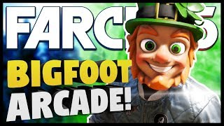 LEPRECHAUN TRAPPED WITH BIGFOOT | Far Cry 5 Funny Moments Gameplay