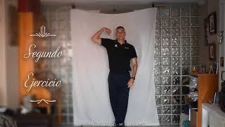 Ejercicios de movilidad - #yomemuevoencasa David Rodríguez Ruíz colegiado COLEFC nº8496