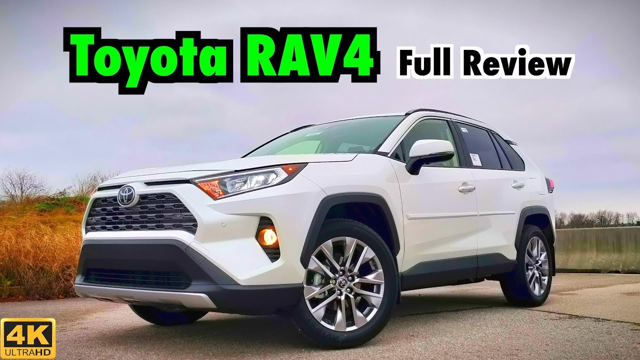 2019 Toyota RAV4: FULL REVIEW + DRIVE   Toyota Has a Winner on Their Hands!