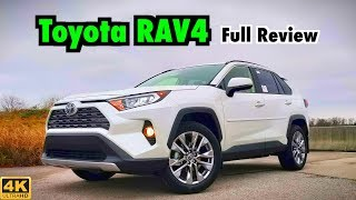 2019 Toyota RAV4: FULL REVIEW + DRIVE | Toyota Has a Winner on Their Hands!